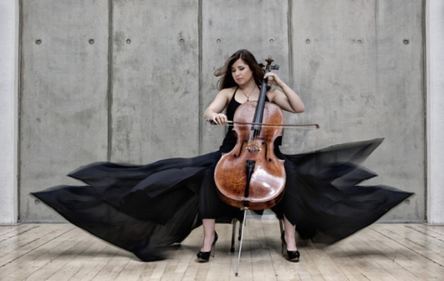 Stjerne-cellist til Piknik i Parken