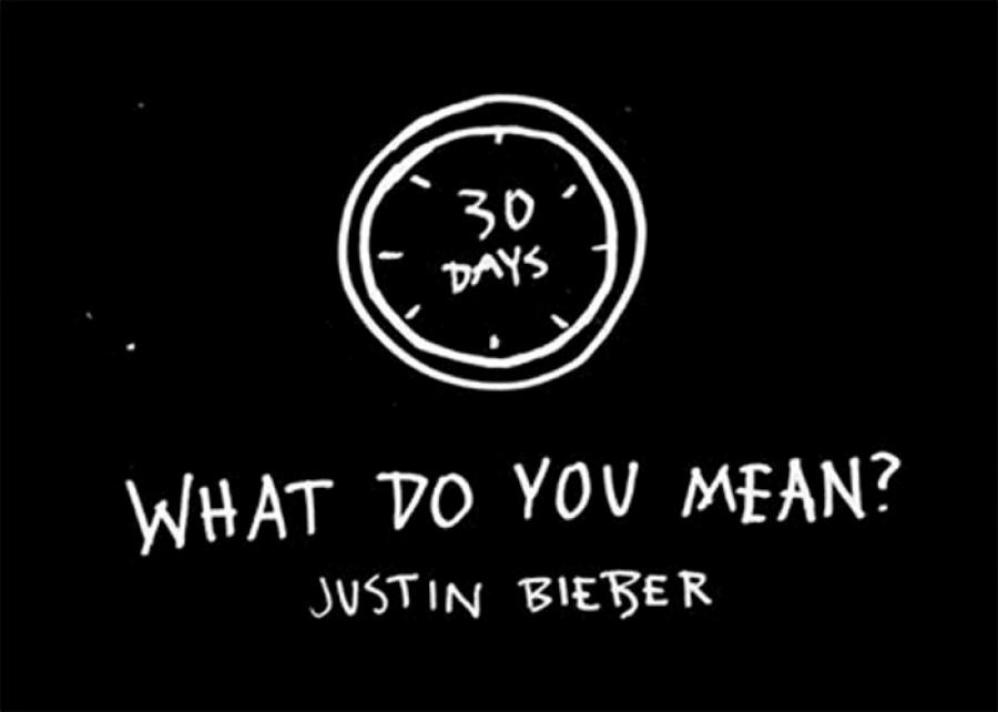 Justin Bieber med ny singel