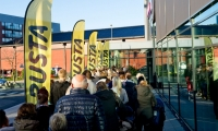 Rusta åpner i Hønefoss
