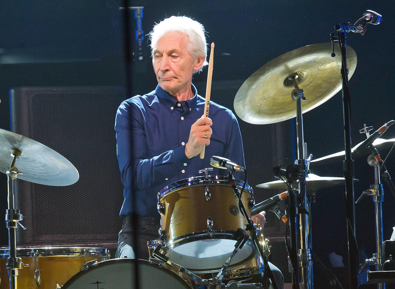 Rolling Stones-trommeslager Charlie Watts er død