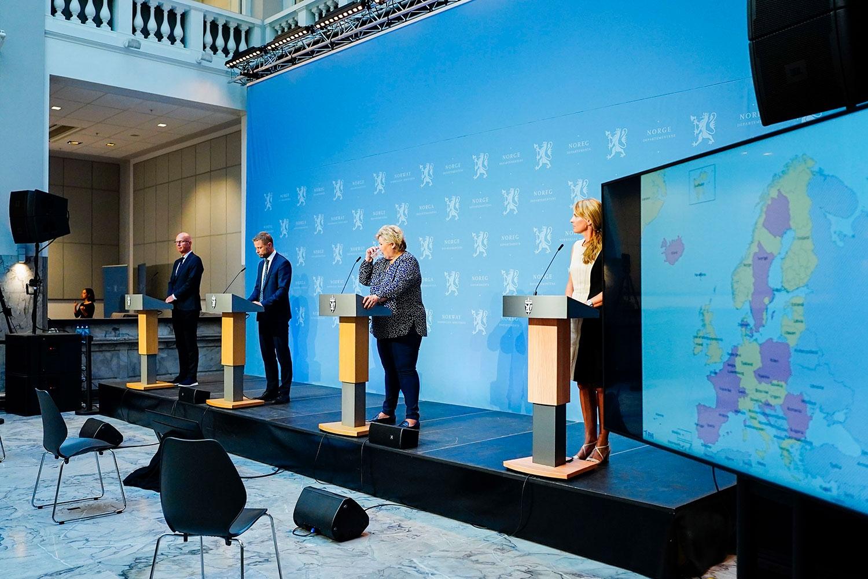 Europakartet blir rødere og statsministeren ber nordmenn gjenfinne dugnadsånden