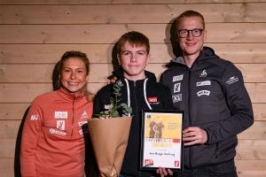 Jens Borgar ble kåret til Skiskytter med MOT