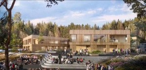 Betonmast bygger Hov ungdomsskole