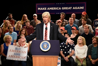 Alec Baldwin vant Emmy for rollen som Trump