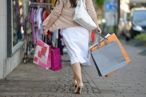 Konkursras blant klesbutikker