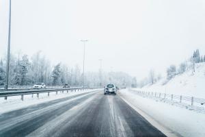 Meteorologene advarer: – Mye snø i Hønefoss