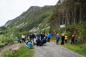 Politiet ga opp å fjerne vindkraftdemonstrasjoner på Haramsøya