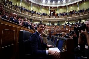 Sanchez godkjent som Spanias statsminister