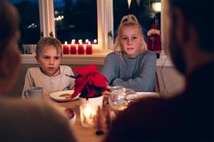 5 råd for å sikre en trygg julefeiring for barna