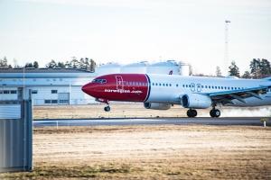 Over 20 prosent færre passasjerer for Norwegian