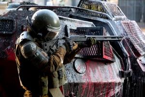 Politiet i Chile slutter å bruke haglammunisjon mot demonstranter