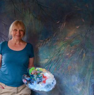 Ragnhild Steig Svenningsen på Galleri Gamle Eidsfos