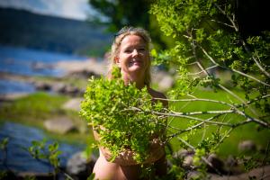 Nakenturismen blomstrer: Kristin (50) føler seg frigjort